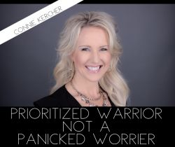 PRIORITIZED WARRIOR GROUP COACHING EXPERIENCE ONLY- KICK OFF OCTOBER 16, 2021